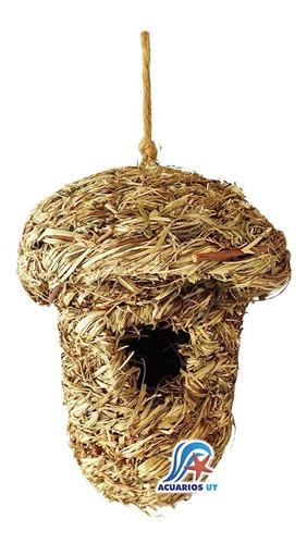 Nido De Junco Para Aves Loros Pájaros. 15cm X 20cm
