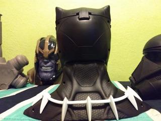 Palomera 3d Blackpanther Y Mazo Hulk De Thor Raknarok