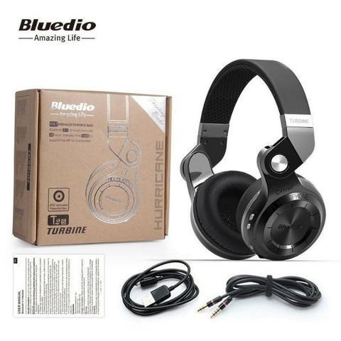 Headphone Bluedio T2s+ Plus Bluetooth 5.0 Fone