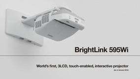 Proyector Interactivo Brightlink 595wi+ Wxga 3lcd V11h599021
