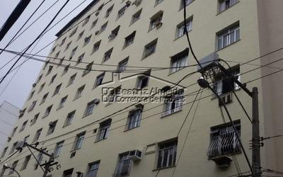 Kitnet Mobiliada Para Locação No Centro De Niterói - Rj