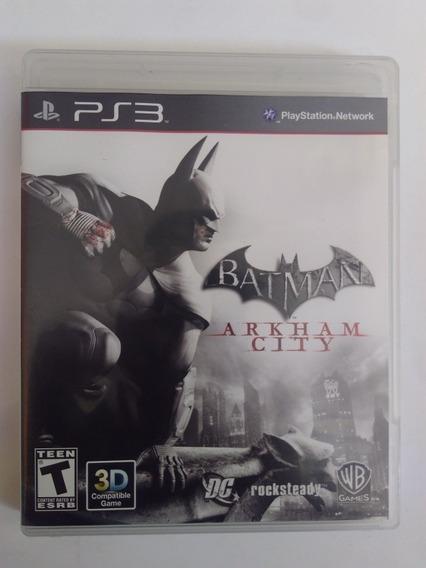 Jogo Batman Arkham City Ps3 Mídia Física Completo R$39,9
