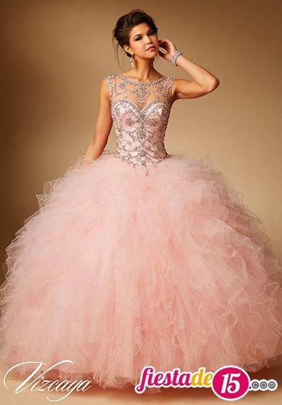 Vestido Vizcaya Color Rosa Pastel De Un Solo Uso