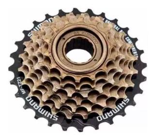 Catraca Roda Livre Bike 7v Rosca Tz-21 Shimano 14/28 Dentes