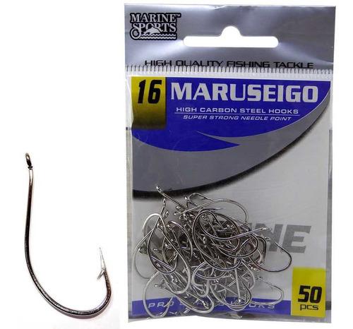 Anzol Marine Sports Maruseigo Nickel - 16 Com 50