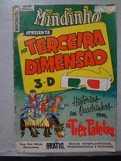 Hq Mindinho Especial Terceira Dimensão Tres Patetas 1960