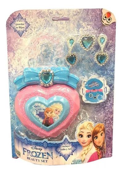 Bolso Niña Frozen Disney Con Accesorios Ditoys Juguete