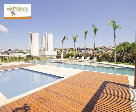 Apartamento Com 3 Dormitórios, 56 M²- Cocaia - Guarulhos/sp - Ap0004