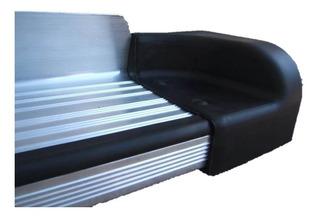 Punteras Plásticas Estribo Plano Aluminio