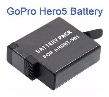 Bateria Nova Recarregável Para Go Pro Hero 5 Black Ahdbt-501