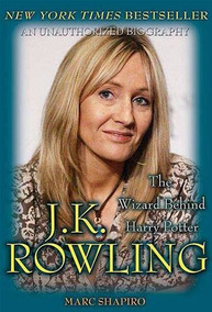 Livro J. K. Rowling The Wizard Behind Harry Potter Marc Shap