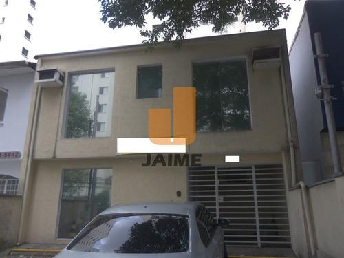Casa Comercial Para Locação No Bairro Indianópolis Em São Paulo - Cod: Ja9325 - Ja9325