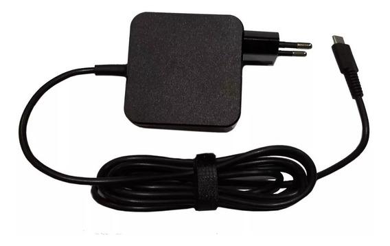 Fonte Lenovo 20v 2.25a - Plug Usb ( C ) Type C