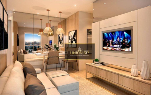 Apartamento Com 2 Dormitórios À Venda, 50 M² Por R$ 440.180,00 - Lapa - São Paulo/sp - Ap47227