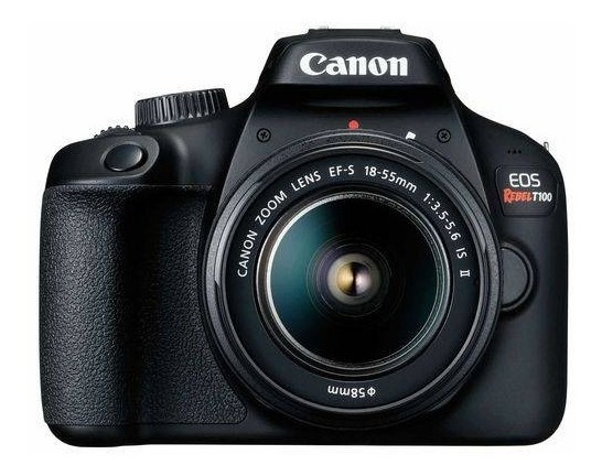 Câmera Canon Eos T100 Kit 18-55mm Dc Iii