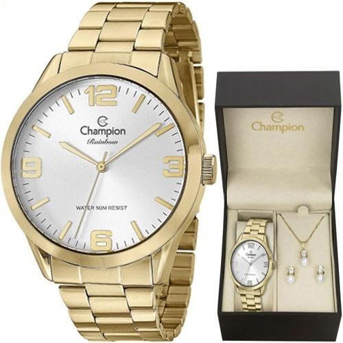 74497e0669bb Relogio Rainbow Champion - Relógio para Feminino Champion no Mercado ...