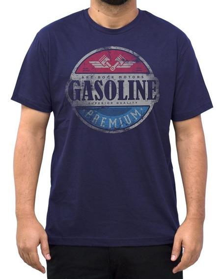 Camiseta Camisa Masculina Gasolina Premium