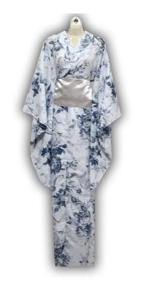 Kimono D Verano Yukatas C/ Obi Japón Floreado C/ Defecto