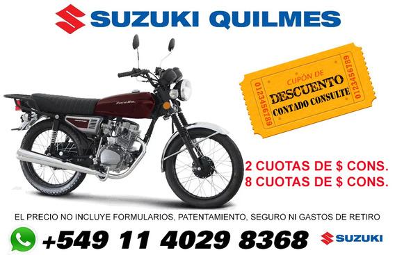 Moto Zanella Sapucai 150f 150f Disco 0km 2020 Suzuki Quilmes