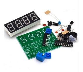 Kit De Eletrônica Para Montar Um Relógio Digital Diy