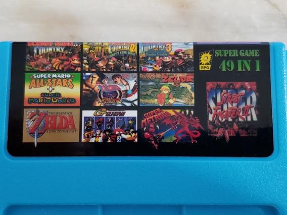 Trilogia Donkey Kong Country 49 Em 1 Snes Super Nintendo