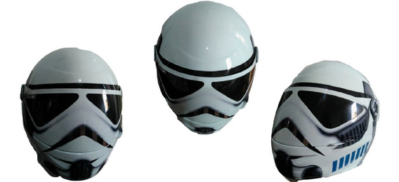 Capacete Fechado Barato Pro Tork Personalizado Star Wars Top