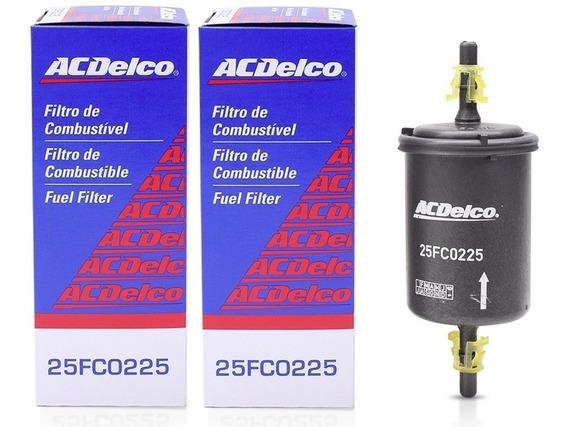 Filtro De Combustível Acdelco 25fc0225 C/ 2 Unidades