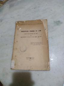Decreto Lei Federal N 1.000 -corregedoria Justiça Estado Mg