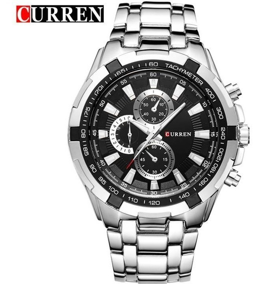Relógios Curren Original Masculino De Quartzo Pronta Entrega