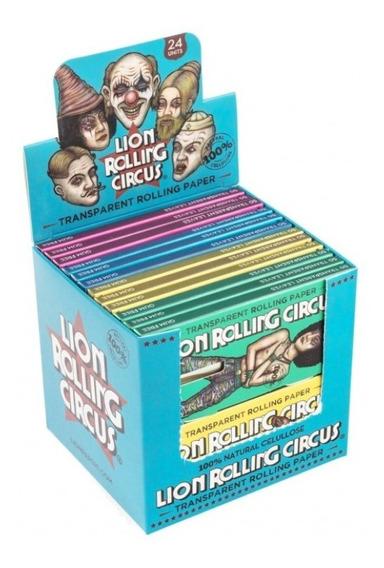 Lion Rolling Circus Celulosa Transparente 24x50h Candyclub