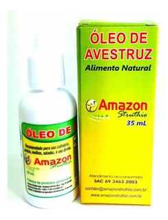 Óleo De Avestruz 10 Unids Ômega 3, 6, 7 E 9 Vitaminas A D E