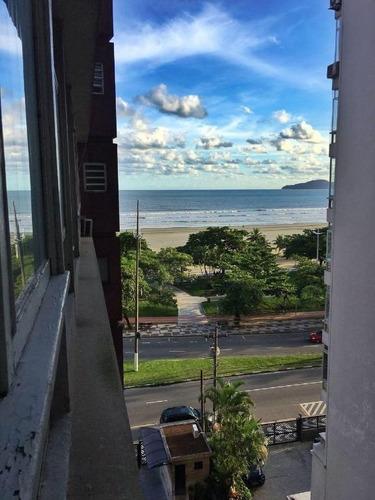 Apartamento Com 1 Dormitório À Venda, 50 M² Por R$ 325.000,00 - Boqueirão - Santos/sp - Ap1501