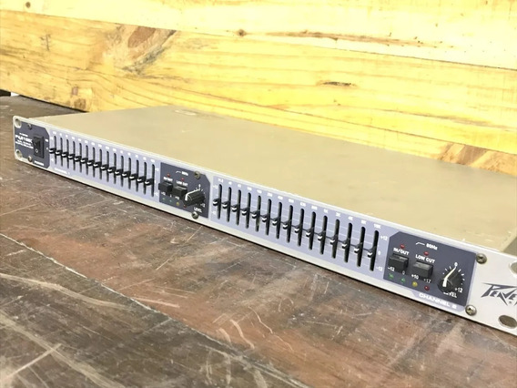 Rack Equalizador Peavey Pv215 Dual 15 Band Graphic Equalizer