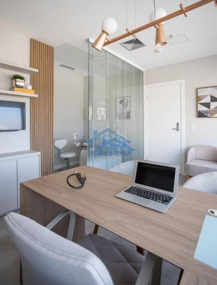 Sala Para Alugar, 72 M² Por R$ 4.000,00/mês - Empresarial 18 Do Forte - Barueri/sp - Sa0164
