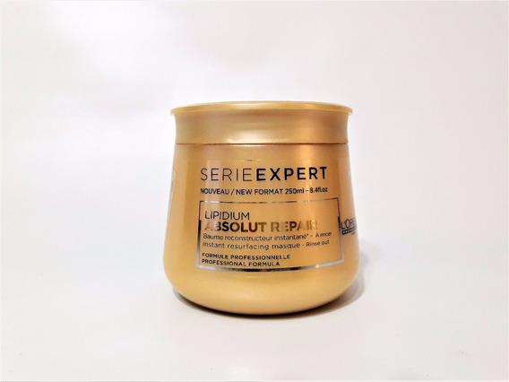 Mascara Loreal Baño De Crema Absolut Repair X 250ml Secos