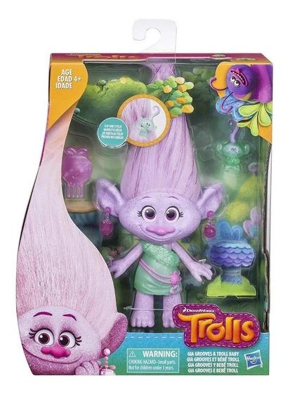 Trolls Personaje Figura Para Peinar Hasbro E0144 Edu Full
