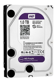 Disco Rigido 1tb Western Digital Purple Instalado