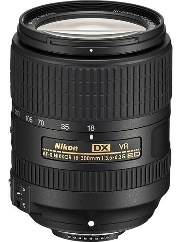 Lente Nikon 18-300mm F/3.5-6.3g Ed Dx Vr Af-s *ler Anúncio*