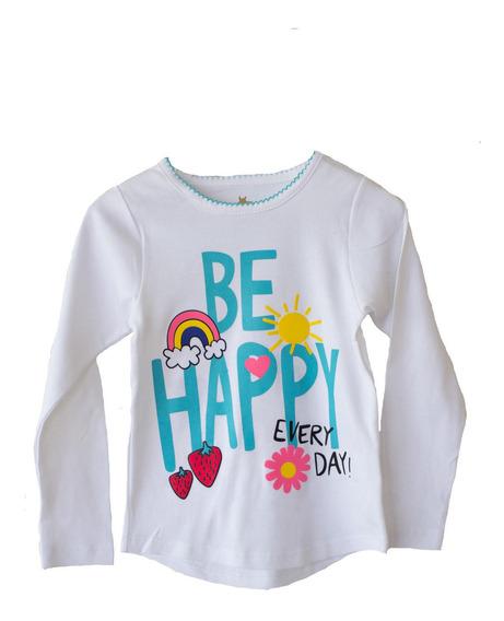 Polera Be Happy Niña