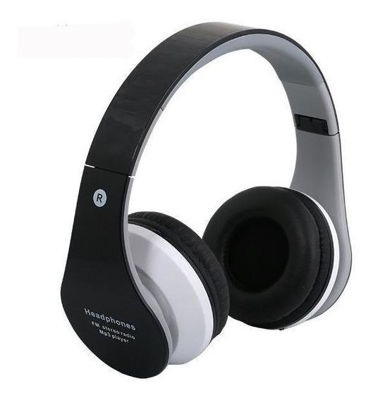 Fone De Ouvido Headphone Sem Fio Micro Sd Usb Bluetooth B-01