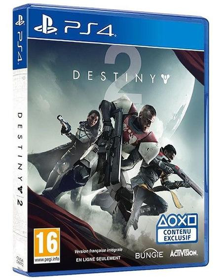 Destiny 2 - Day One Edition - Ps4 - Jogo Lacrado
