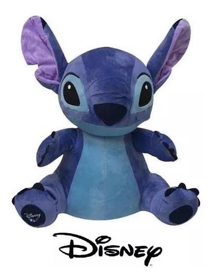Boneco De Pelucia Disney Stitch 30cm C/ Som Articulado Br806