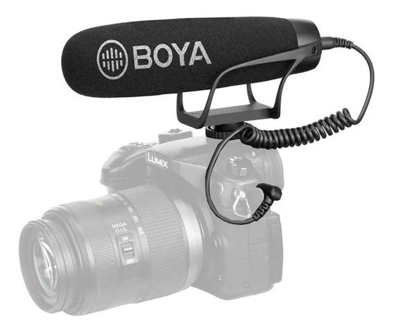 Microfone Super Cardioid Shotfun Boya By-bm2021