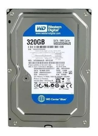 Disco Duro 320gb Western Digital 3.5 Sata Pc 8694