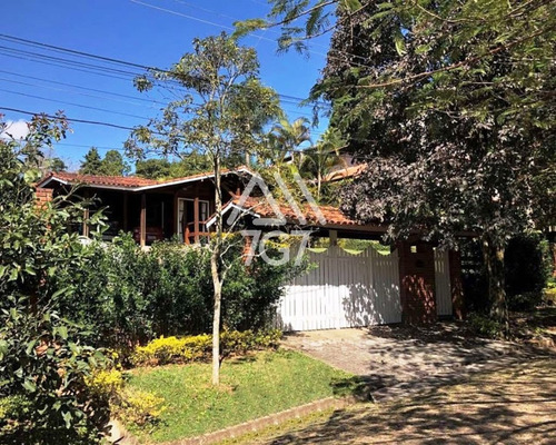 Imagem 1 de 30 de Casa Térrea No Condomínio Granja Viana Ii - Ca01113 - 69298222