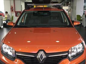 Renault Sandero Stepway 1.6 Privilege 0 Km 2018 Naranja Af