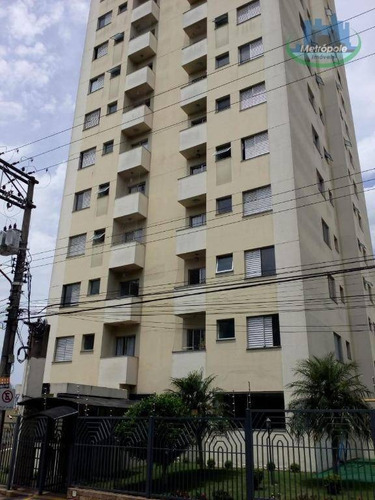 Apartamento Com 2 Dormitórios À Venda, 55 M² Por R$ 280.000 - Vila Paulista - Guarulhos/sp - Ap1147