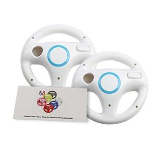 Gh Wii U Wii Volante Para Juegos De Carreras, Color Blanco O