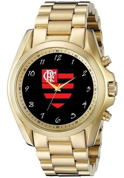 Relógio De Pulso Personalizado Feminino Time Flamengo Mengão