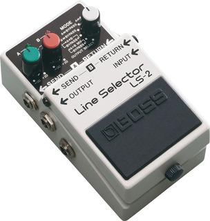 Pedal Efectos Guitarra Bajo Boss Ls-2 Line Selector Ls2